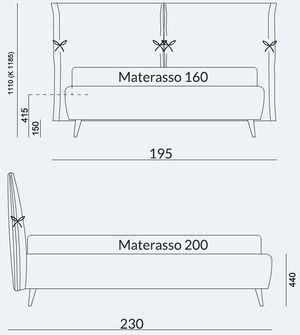 Materasso 160x200