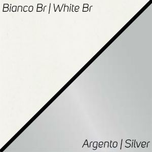 Bianco Br / Argento