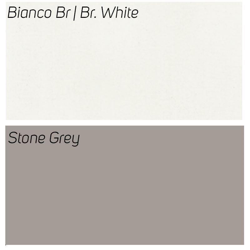 Bianco Br / Stone Grey