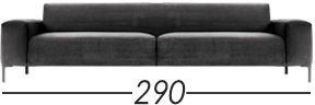 Lunghezza 290cm [+€370,00]
