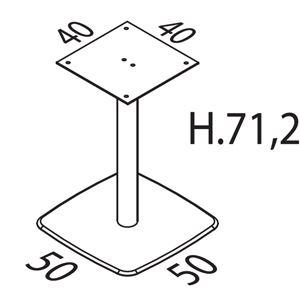 Altezza 71,2cm