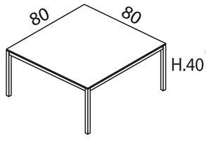 L.80cm x P.80cm