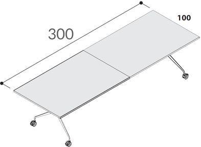 Lunghezza 300cm [+€188,00]