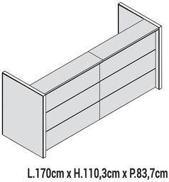 Lunghezza 170cm [+€603,00]