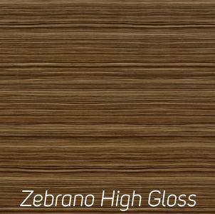 Zebrano High Gloss