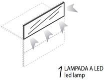 1 Lampada Led [+€264,00]