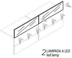 2 Lampade Led [+€624,00]