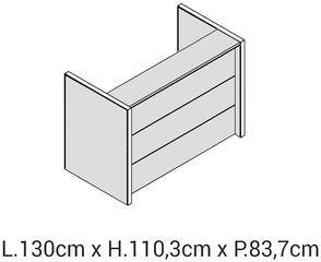 Lunghezza 130cm [+€139,00]
