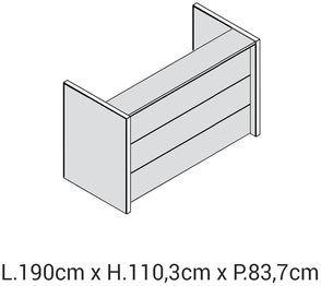 Lunghezza 190cm [+€396,00]