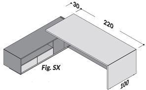 Lunghezza 250cm SX [+€53,00]