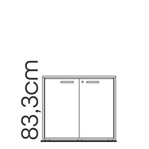 H. 83,3 (Mobili Bassi)