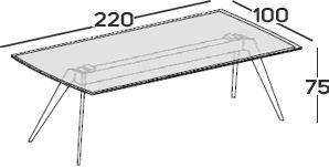 Lunghezza 220cm [+€178,00]