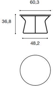 Ø 60,3cm [+€35,00]