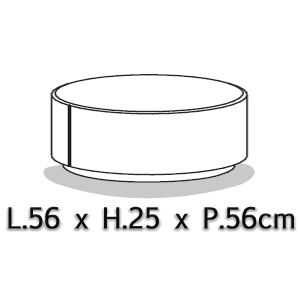 Diametro Ø56cm [+€70,00]