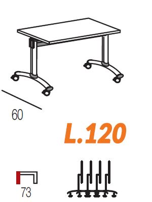 Lunghezza 120cm [+€30,00]