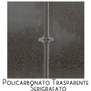 Trasparente Serigrafato