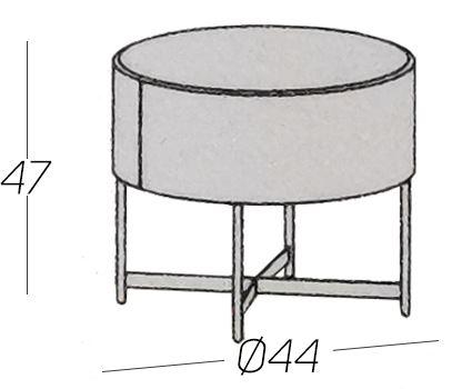 Diametro Ø44cm