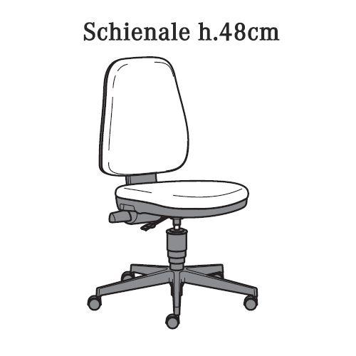 Schienale H.48cm [+€15,00]