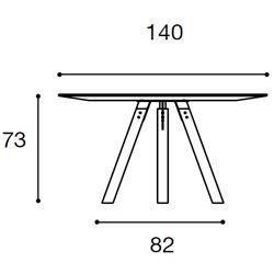 Diametro Ø140cm [+€100,00]