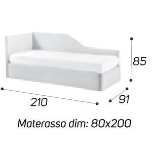 Angolo Sagomato - M: 80x200 [+€69,00]