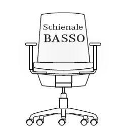 Schienale Basso
