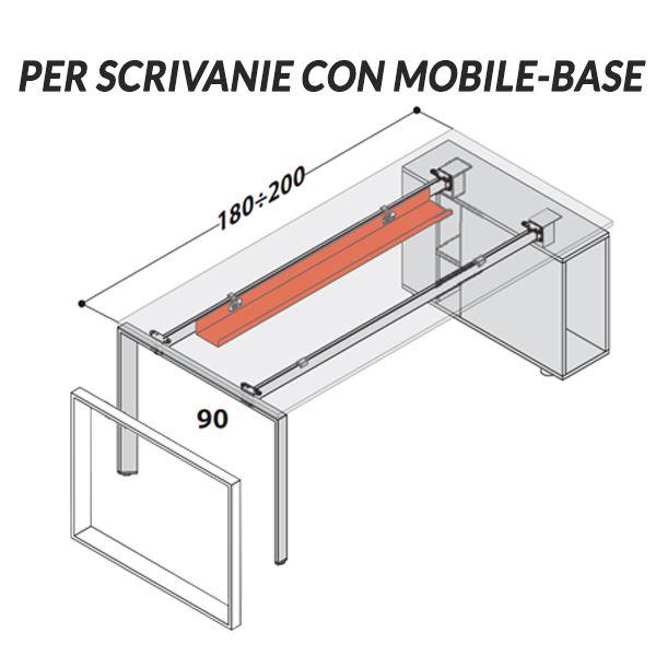 Scrivanie con Mobile-Base