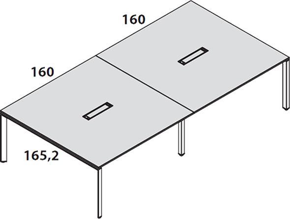 Lunghezza 320cm [+€100,00]