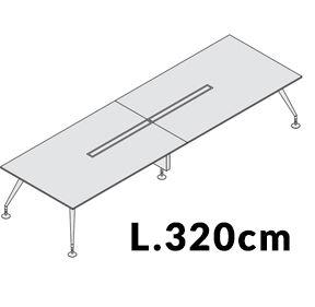 Lunghezza 320cm [+€437,00]