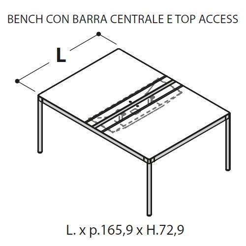 Bench Singolo