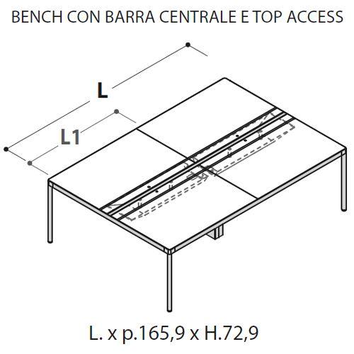 Bench Doppio [+€744,00]