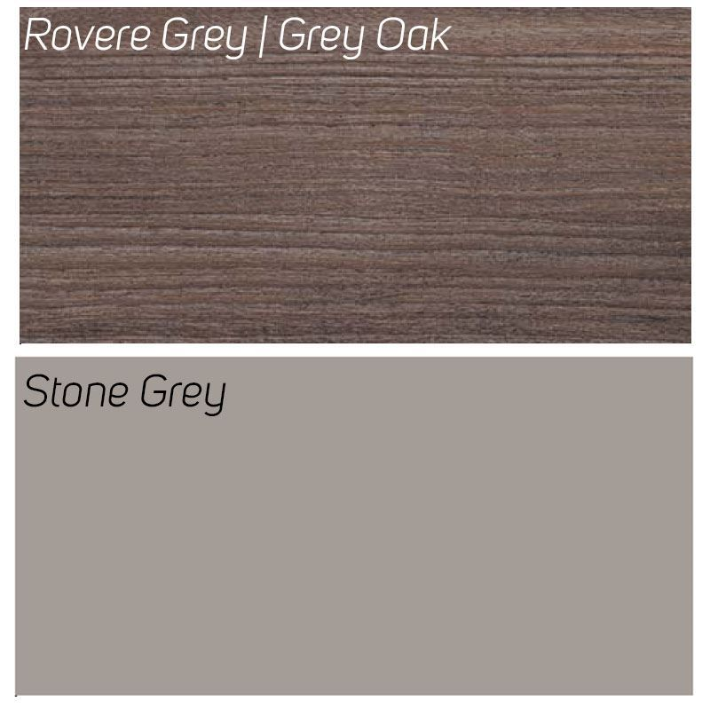 Rovere Grey / Stone Grey