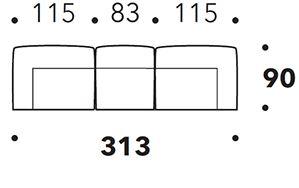 Divano Lineare [+€359,00]