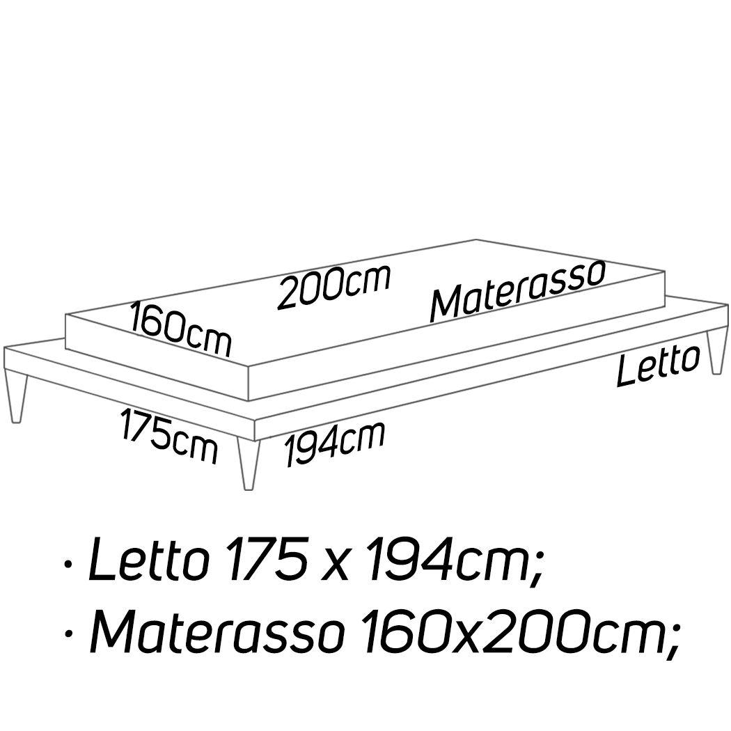 L: 175 x 194 - M: 160 x 200