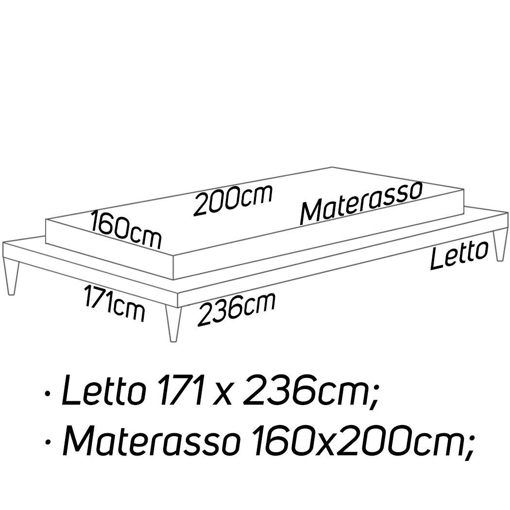 L: 171 x 236 - M: 160 x 200