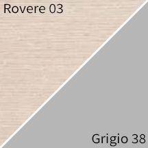 Rovere 03 / Grigio 38